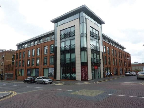 Prosperity's JQ1 Birmingham City Centre. Fully sold out at point of completion and fully tenanted.
